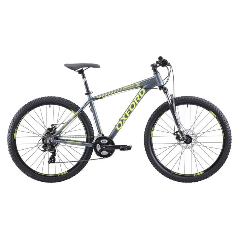 OXFORD - Bicicleta Hombre S Merak 3 Grafito/Amarillo - aro 27.5