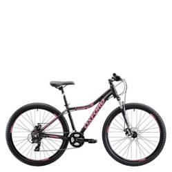 OXFORD - Bicicleta Mujer L Venus 3 Negro/Fucsia - aro 29