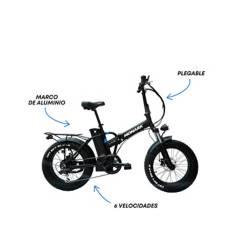 "Monark - Bicicleta Eléctrica E-Flash Aro 20"" Unisex"