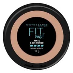 MAYBELLINE - Polvo Fit Me Matte + Poreless 0.30 Fl Oz Tono Pure Beige