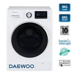 DAEWOO - Lavaseca 9KG/6KG DWC-90MCW Blanco