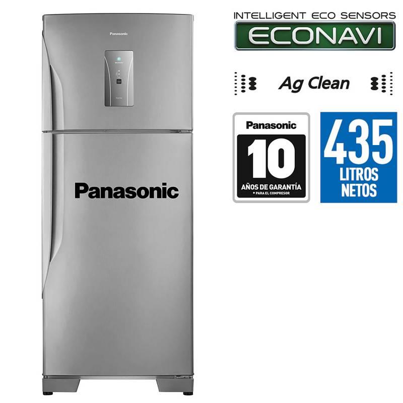 PANASONIC - Refrigeradora No Frost 435 Lts Inox