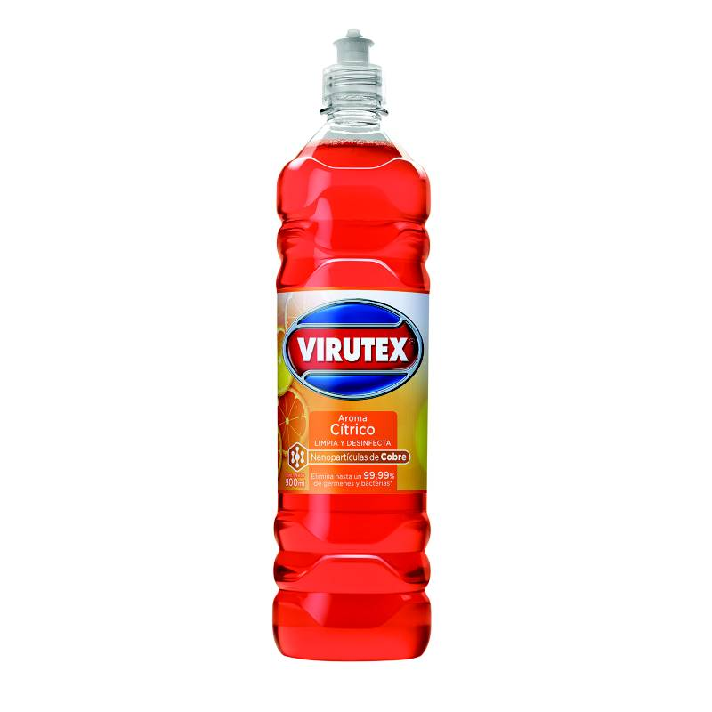 VIRUTEX - Limpiador Desinfectante Cítrico 900 Ml