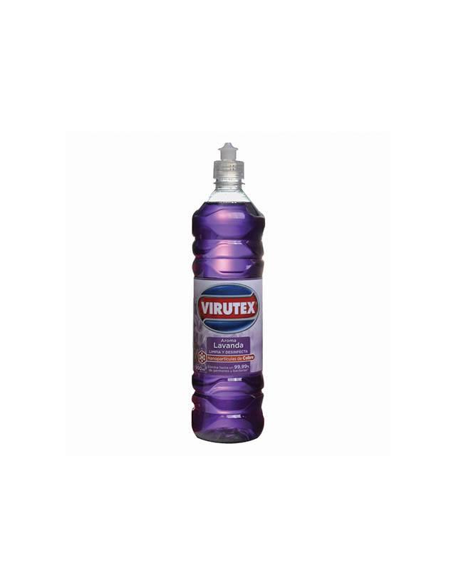 VIRUTEX - Limpiador Desinfectante Lavanda 900 Ml