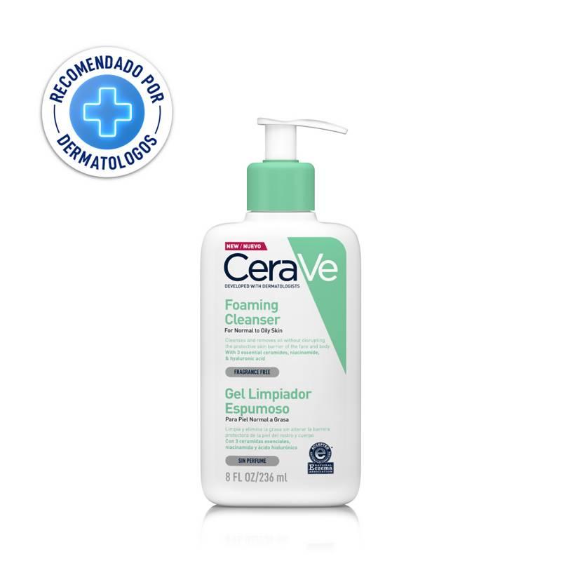 CERAVE - Cerave gel limpiador espumoso 236ml