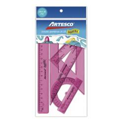 ARTESCO - Estuche Geom. 20cm Irrompible