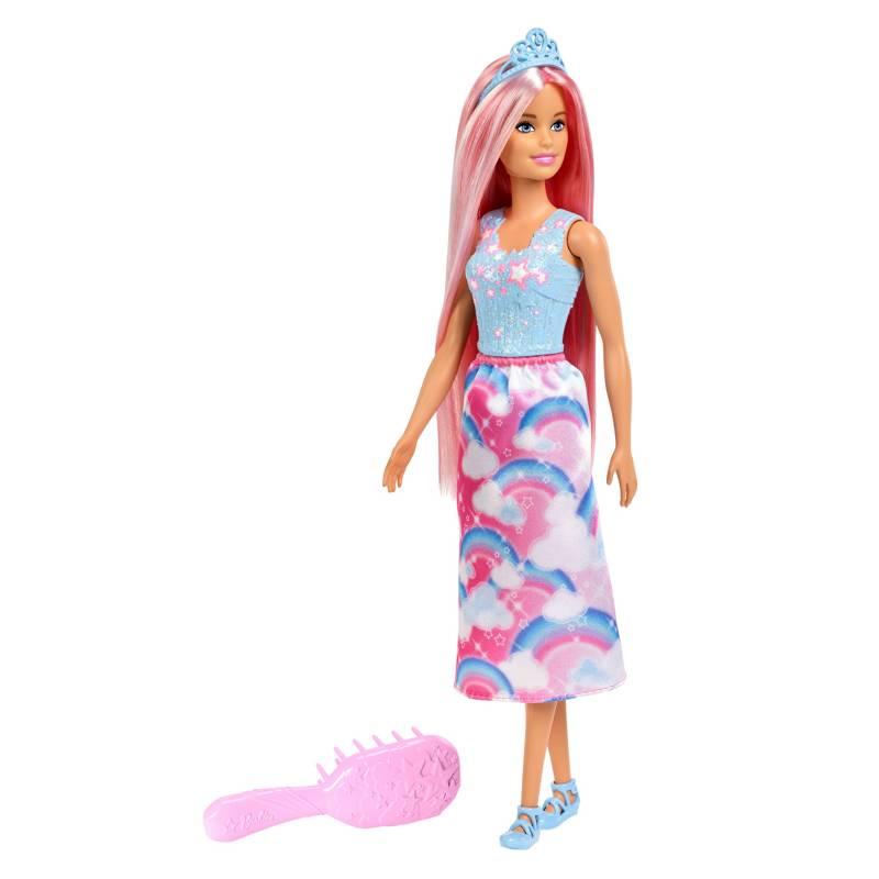 BARBIE - Muñeca Princesa Peinados Mágicos