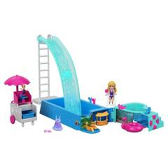 POLLY POCKET - Set Piscina de Sorpresas