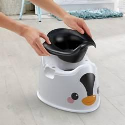FISHER PRICE - Mi Primera Bacinica De Pingüino