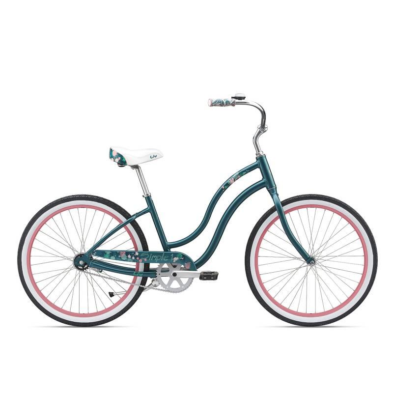 "GIANT - Bicicleta Live 2019 Simple Single W Aro 26"" Teal Rosado"