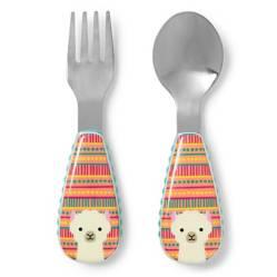 SKIP HOP - Set Cuchara y Tenedor Llama