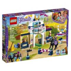 LEGO - Competencia de Saltos de Stephanie