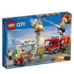 LEGO - Rescate del Incendio En La Hamburguesería