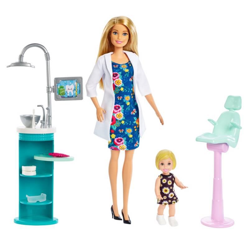 BARBIE - Barbie Set de Muñecas con Profesiones Surtida