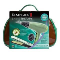 REMINGTON - Secadora+Alisadora Shine