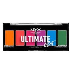 NYX Professional Makeup - Paleta de Sombras Ultimate Edit Petite