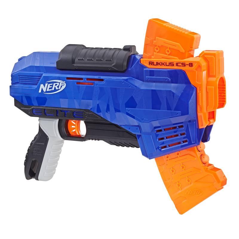 NERF - Lanzador N-Strike Elite Rukkus ICS-8