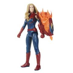 AVENGERS - Figura Titan Hero Power FX 2.0 Captain Marvel