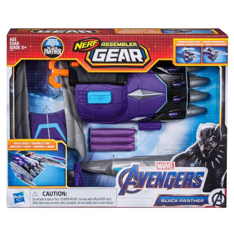 AVENGERS - Lanzador Assembler Gear 2.0 Black Panther