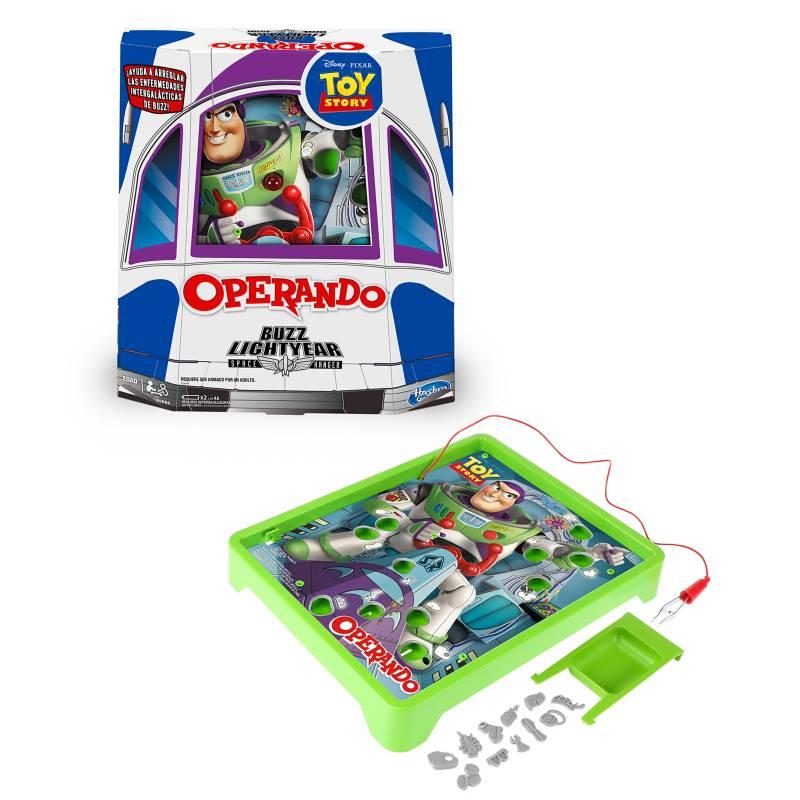 HASBRO GAMES - Operando Edición Buzz Lightyear