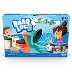 HASBRO GAMES - Baño Loco El Desafío