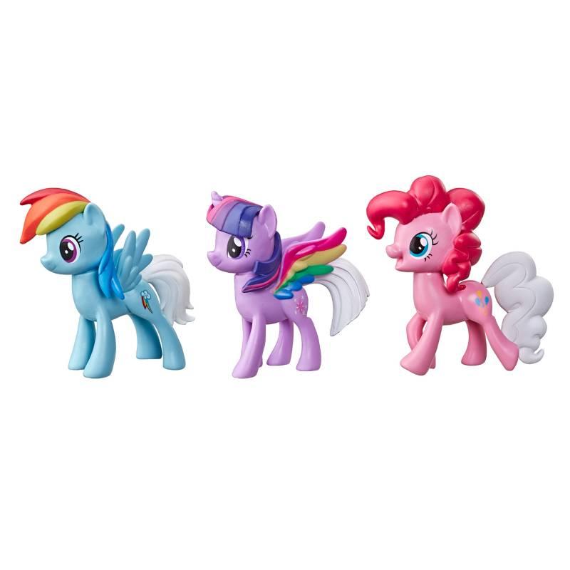 MY LITTLE PONY - Pack x 3 Pony Arcoiris Sorpresa