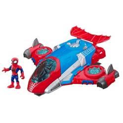 Figura Spider-Man y Aracno-Jet