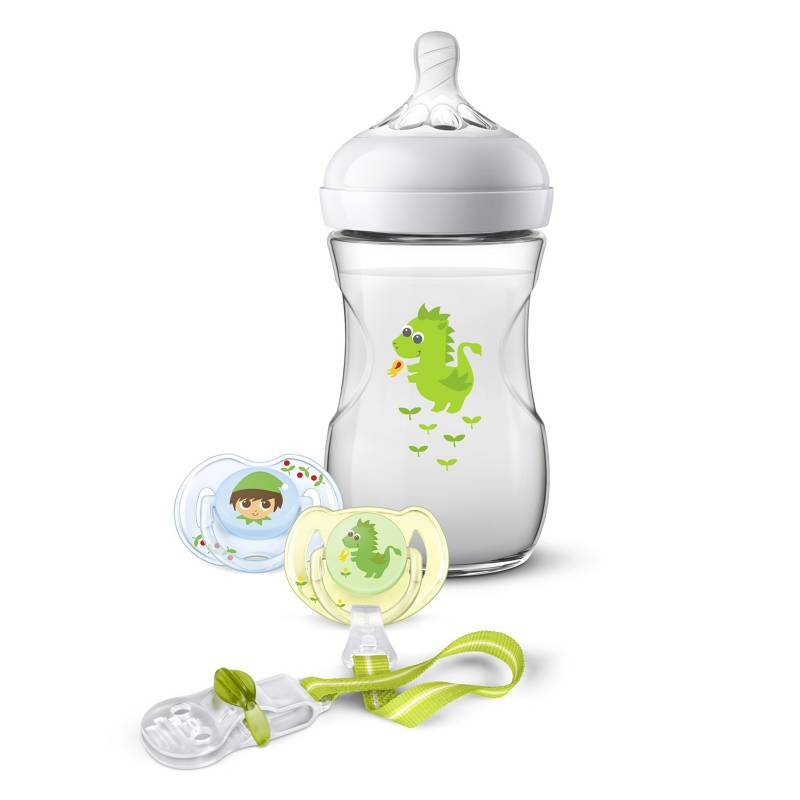AVENT - Set Regalo Natural 2.0 260ml Dragon