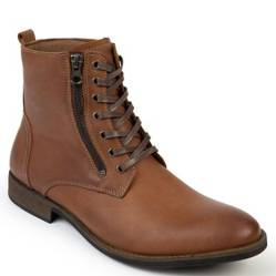 GREENBAY - Botin Casual Cuero Marron