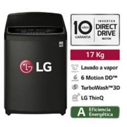 LG - Lavadora 17Kg WT17BSS6H con TurboWash 3D