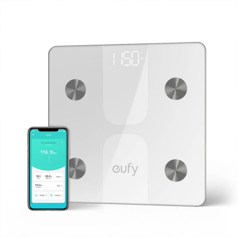 EUFY - Balanza Inteligente BodySense Smart Scale C1 Blanca