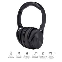 Audífonos Noise Cancelling Bt 10 Hras Mzx701 Silver