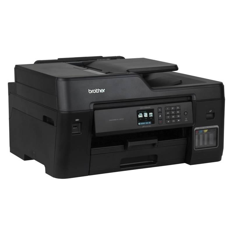 BROTHER - Impresora Multifunción con sistema de recarga de tinta original con Wifi,  ADF y Dúplex MFC-T4500DW