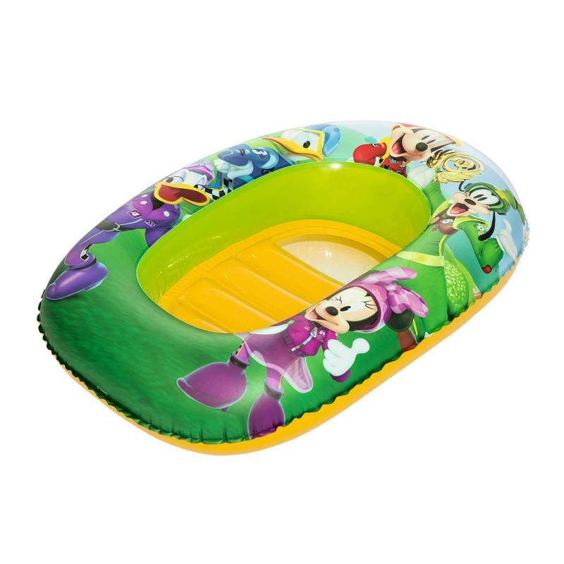 BESTWAY - Flotador Bote Mickey Mouse 102