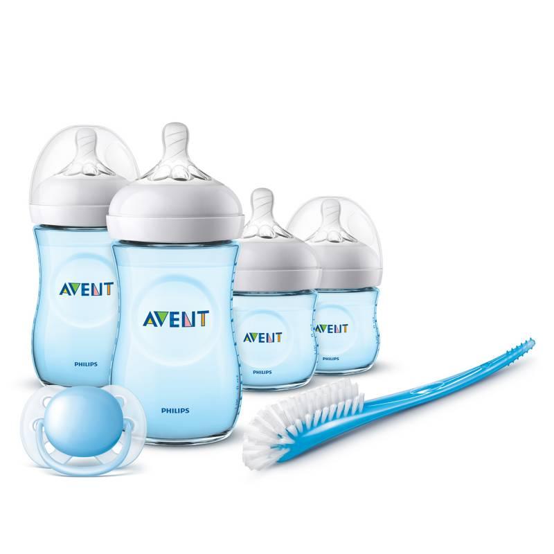 AVENT - Set Recien Nacido Natural 2.0 Azul