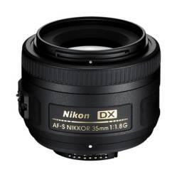 NIKON - Lente Luminoso 35mm f/1.8G AF-S DX
