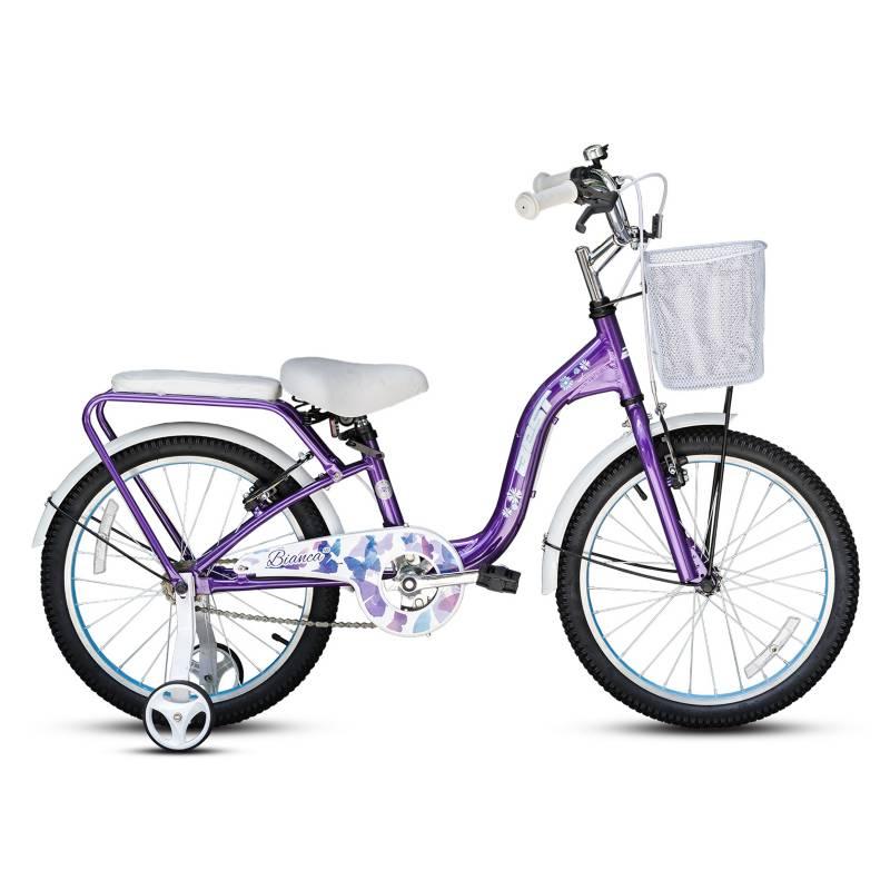 BEST - Bicicleta Best De Niña Bianca Aro 20 Lila