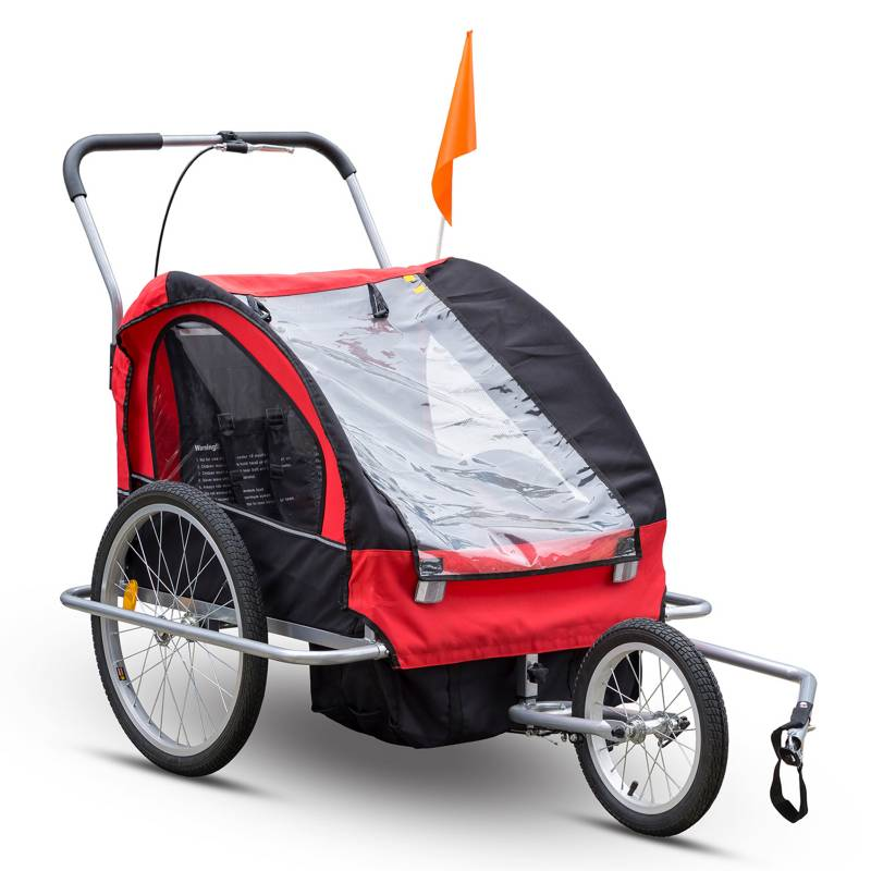 BEST - Carro Bike Trailer Porta Bebe X 2 Y