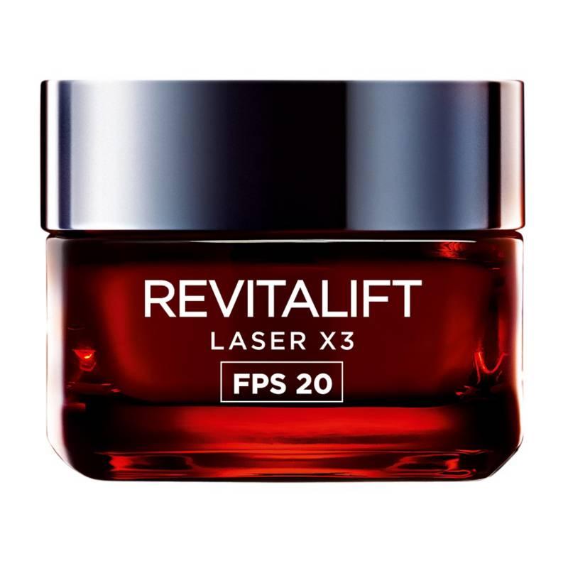 L´ORÉAL PARIS SKIN CARE - Crema anti-manchas con FPS 20 Revitalift LaserX3 50 ml
