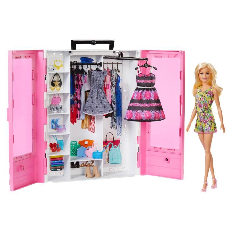 BARBIE - Muñeca Closet De Lujo Con Muñeca