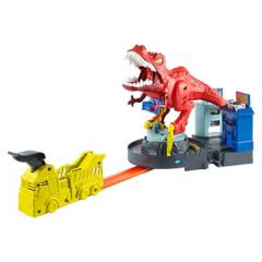 HOT WHEELS - Pista T-Rex Demoledor