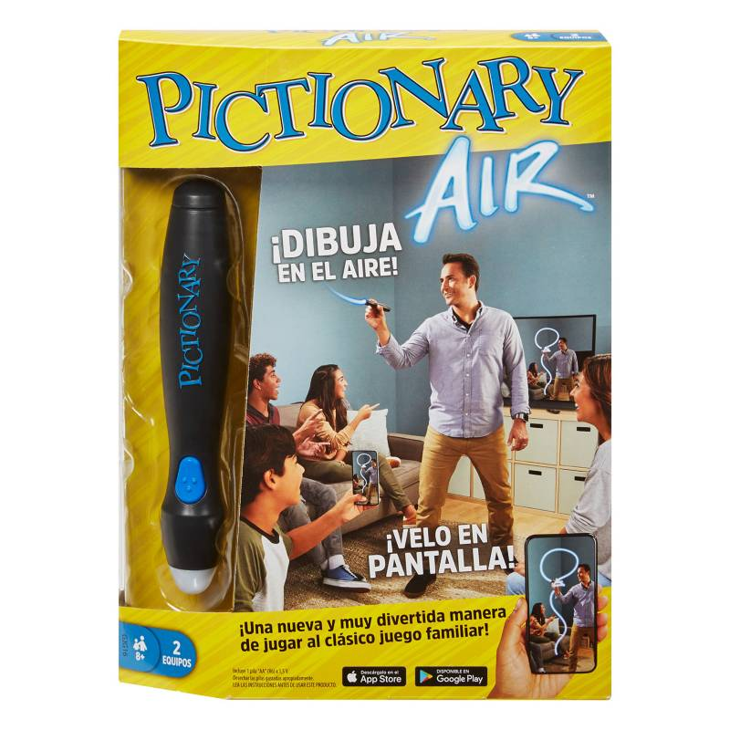 MATTEL GAMES - Juego De Mesa Pictionary Air