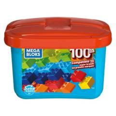 MEGA BLOKS - Mega Caja De Construcción Mini 100 Pzas