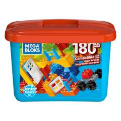 MEGA BLOKS - Mega Caja De Construcción Mini 180 Pzas