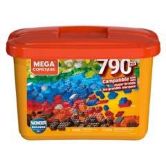 MEGA BLOKS - Mega Caja De Construcción 790 Pzas