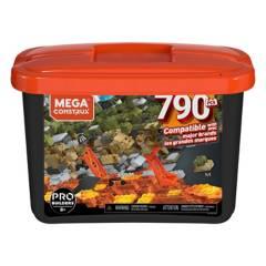 MEGA BLOKS - Mega Caja De Construcción Pro 790 Pzas