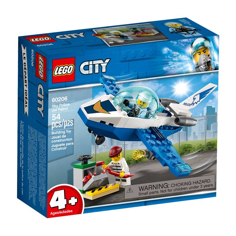LEGO - Policía Aérea: Jet Patrulla