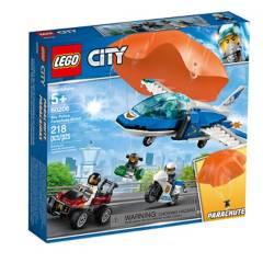 LEGO - Lego 60208 Policía Aérea: Arresto Del Ladrón Paracaidista