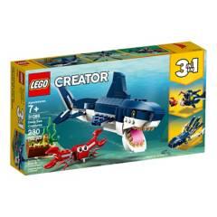 LEGO - Lego 31088 Criaturas Del Fondo Marino