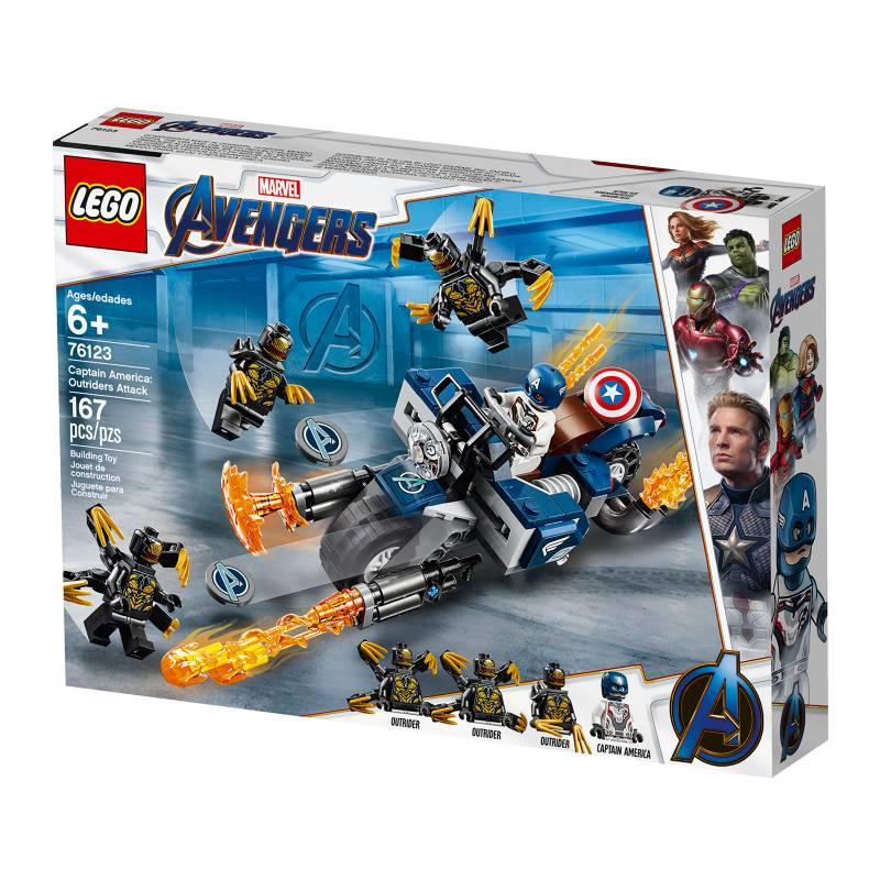 LEGO - Set Endgame Capitan America